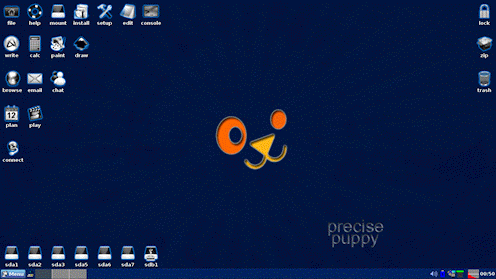 precise puppy desktop